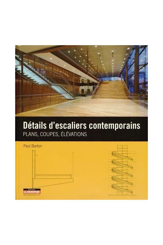 Détails d'escaliers contemporains