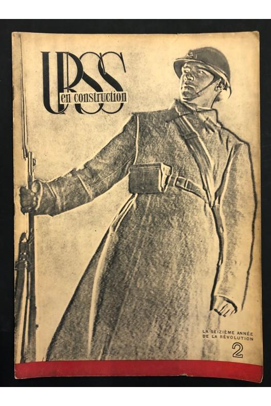 URSS en construction / l'armée rouge 1933
