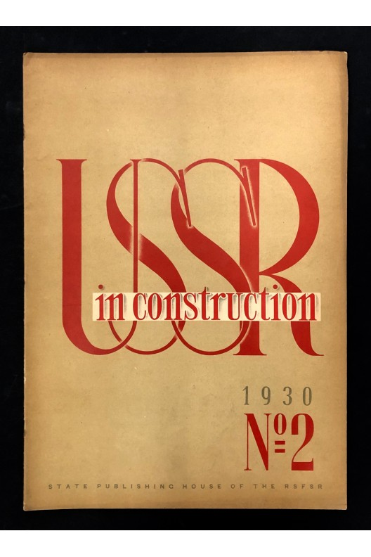 USSR in construction n° 2 1930 / capital of the soviet textile