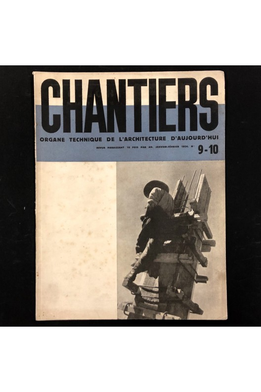 Revue Chantiers n° 9-10 1934 / Gare transatlantique du Havre.