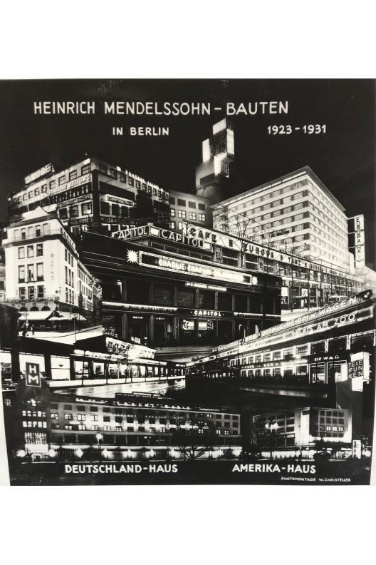 Heinrich Mendelssohn - Bauten in Berlin 1923 1931