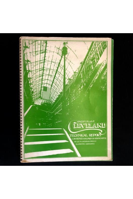 Lawrence Halprin & Associates / Concept plan Cleveland 1975