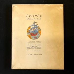 Épopée coloniale par Henry Soulié.
