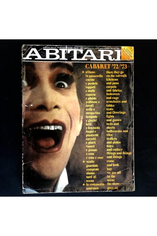 ABITARE / 1973 / Supplément équipement de la maison / Cabaret 72/73