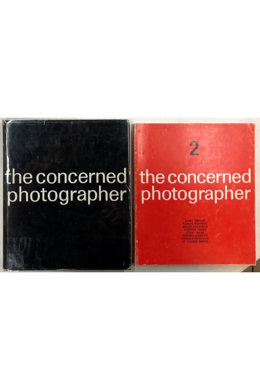 The concerned photographer / Cornell Capa / 1 & 2 / 1968 et 1972 /
