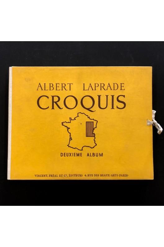 Albert Laprade / croquis / deuxième album