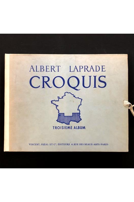 Albert Laprade / croquis / troisième album