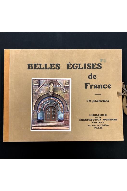 Belles églises de France. 70 Planches.