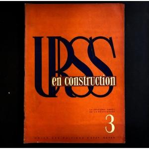 URSS en construction n°3 de mars 1933