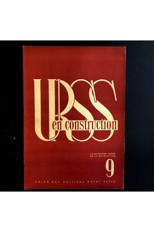 URSS en construction n°9 de septembre 1932