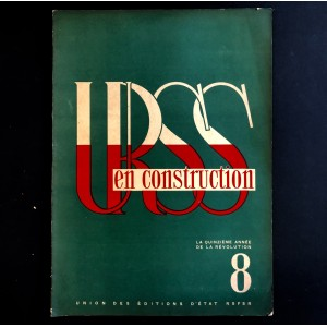 URSS en construction n°8 de août 1932.