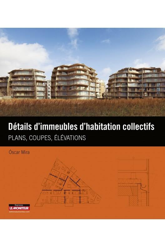 Détails d'immeubles d'habitation collectifs.