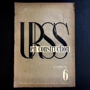URSS en construction n°6 de juin 1932