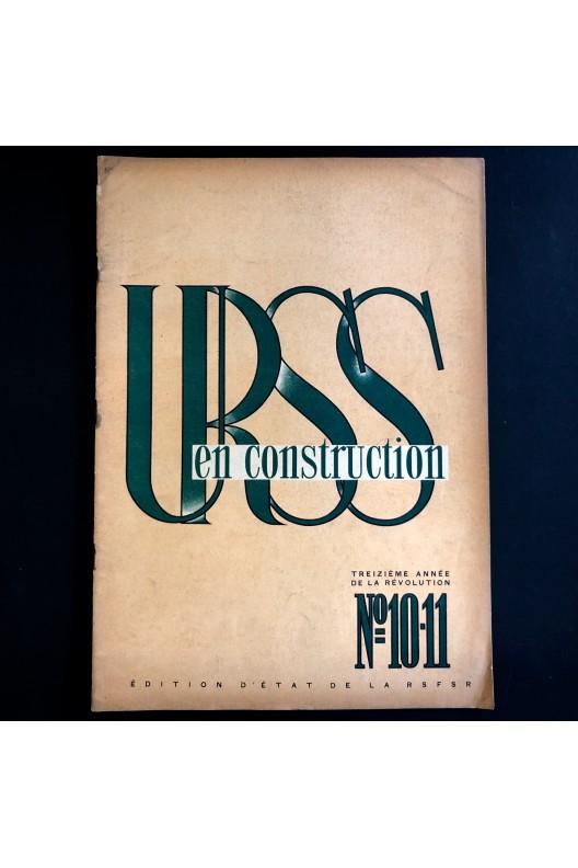 URSS en construction n°10-11 de 1930