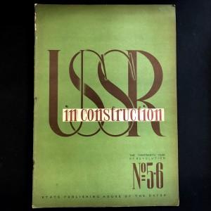 URSS in construction n°5-6 de 1930