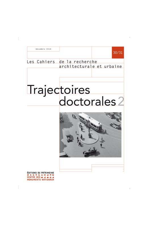 Trajectoires doctorales 2 CRAU 30/31