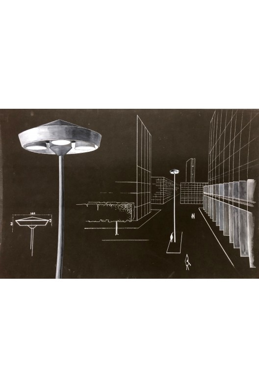 Nicolas Schöffer / Dessins / projet pour Philips