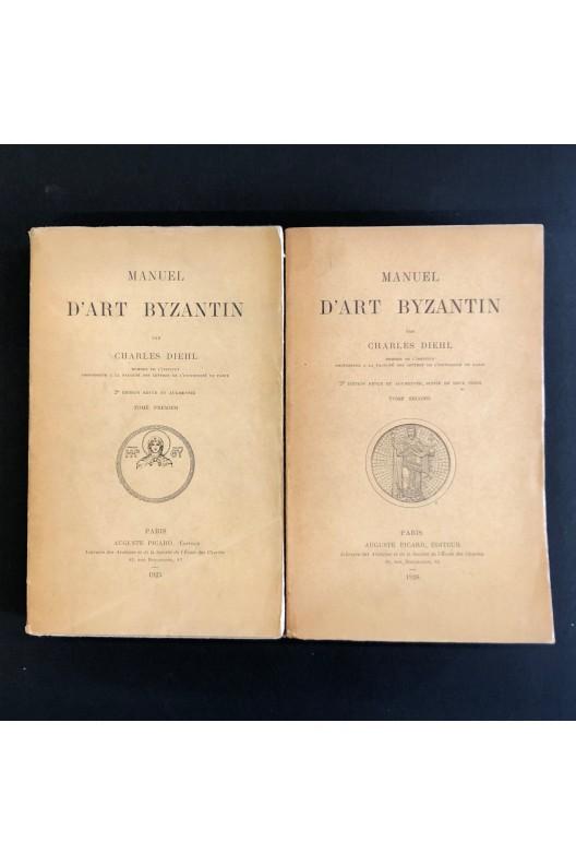 Manuel d'art byzantin par Charles Diehl / 1925