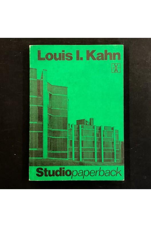 Louis I. Kahn / Studiopaperback