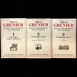 Manuel d'archéologie gallo-romaine / Albert Grenier