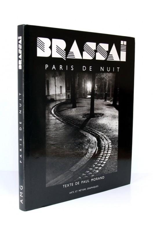 BRASSAÏ / Paris de nuit / Arts et métiers graphiques 1987