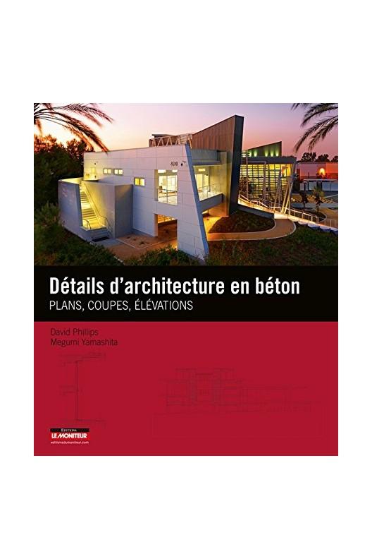 Détails d'architectures en béton.
