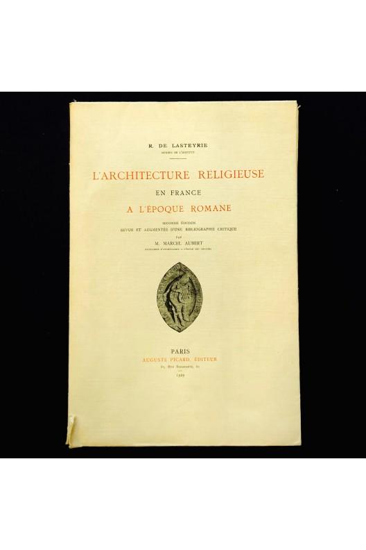 L'architecture religieuse en France à l'époque Romane.