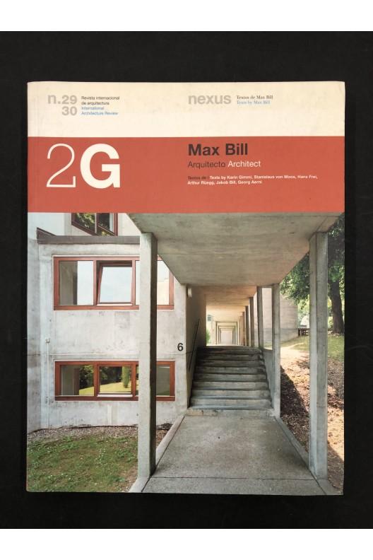 Max Bill Architect / Arquitecto