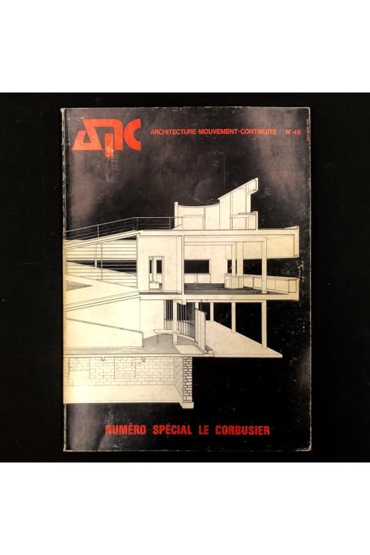 AMC 49  numéro spécial Le Corbusier 1979