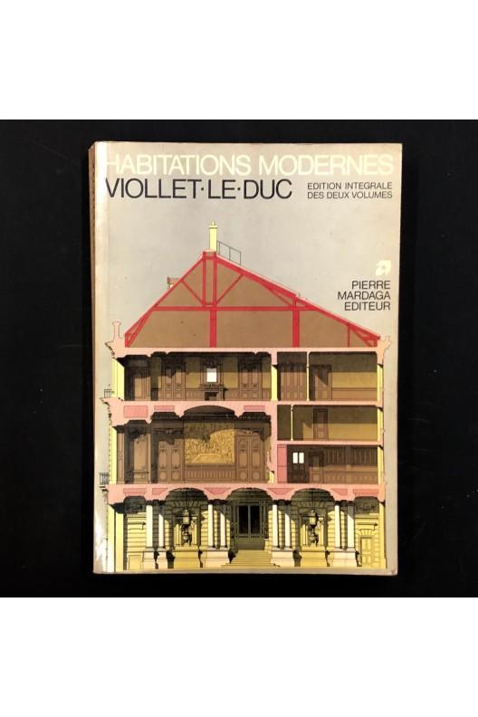 Habitations modernes / Viollet-Le-Duc