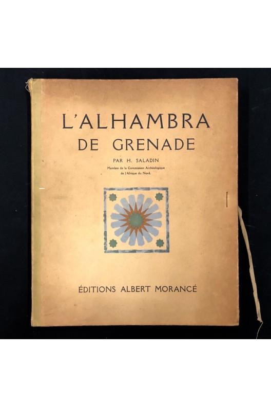 L'Alhambra de Grenade par H. Saladin