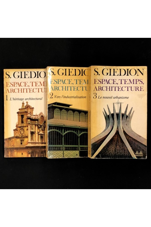 Espace, Temps, Architecture / Sigfried Giedion