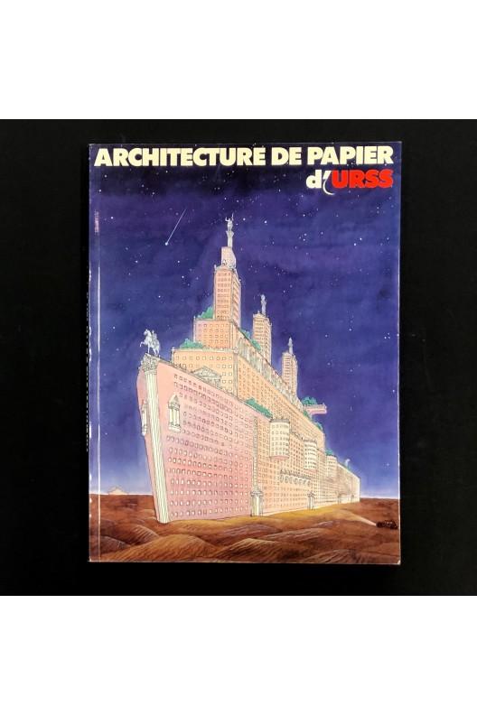 Architecture de papier d'URSS.