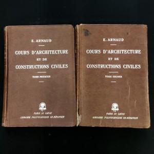 Cours d'architecture et de constructions civiles.
