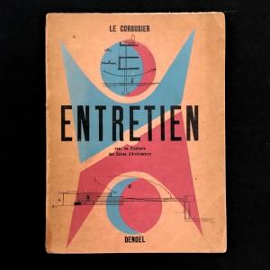 Entretien avec les étudiants des écoles d'architecture / Le Corbusier