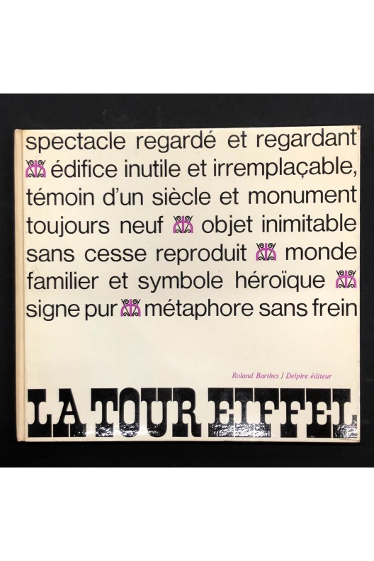 LA TOUR EIFFEL. ROLAND BARTHES