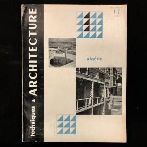 Algérie / Techniques & Architecture 1952