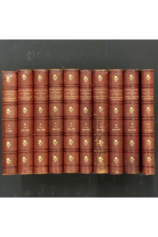 Dictionnaire raisonné  de l'architecture française du XIe au XVIe siècle.